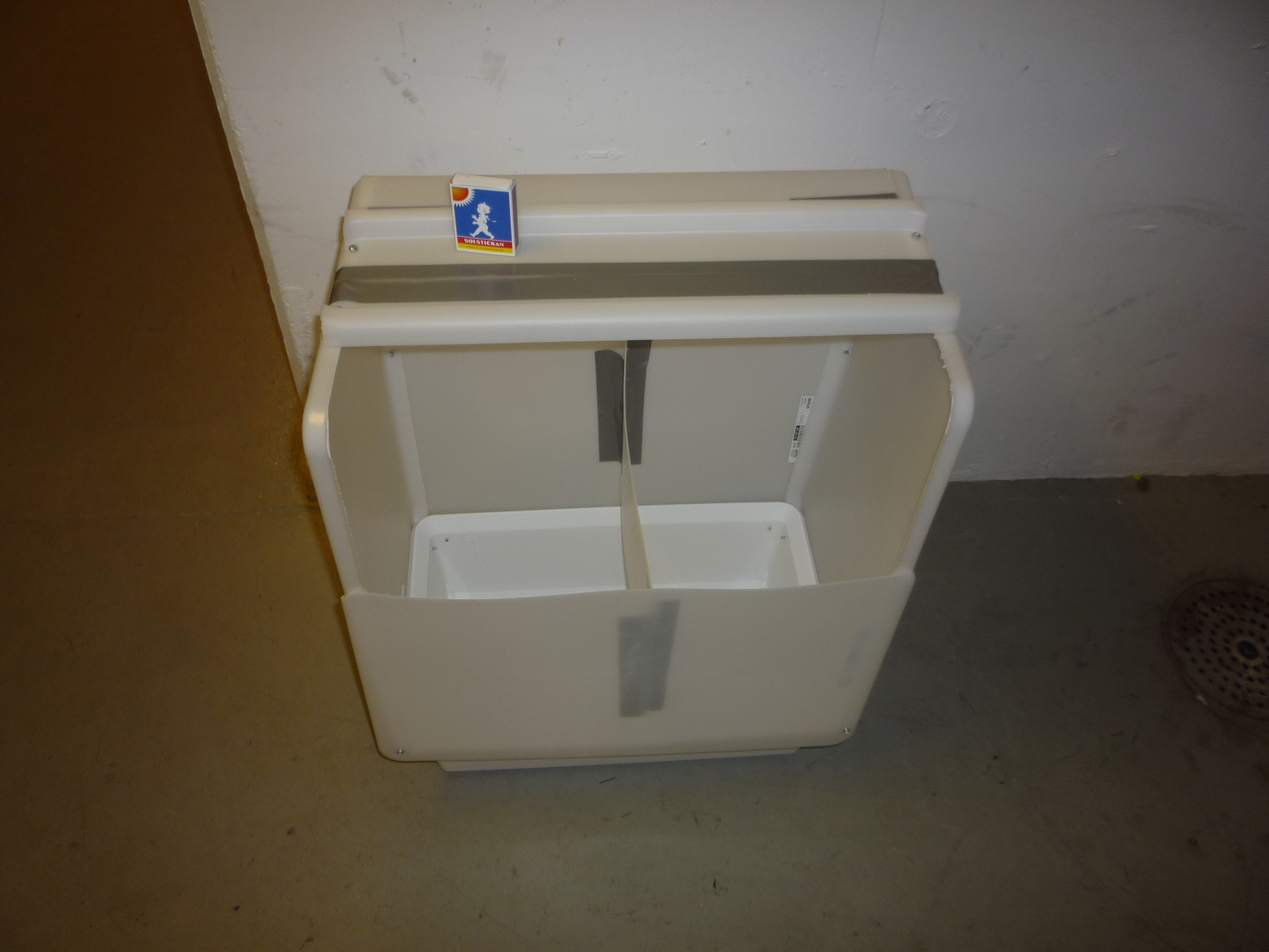 Första versionen av Sorty - smart tvättkorg
